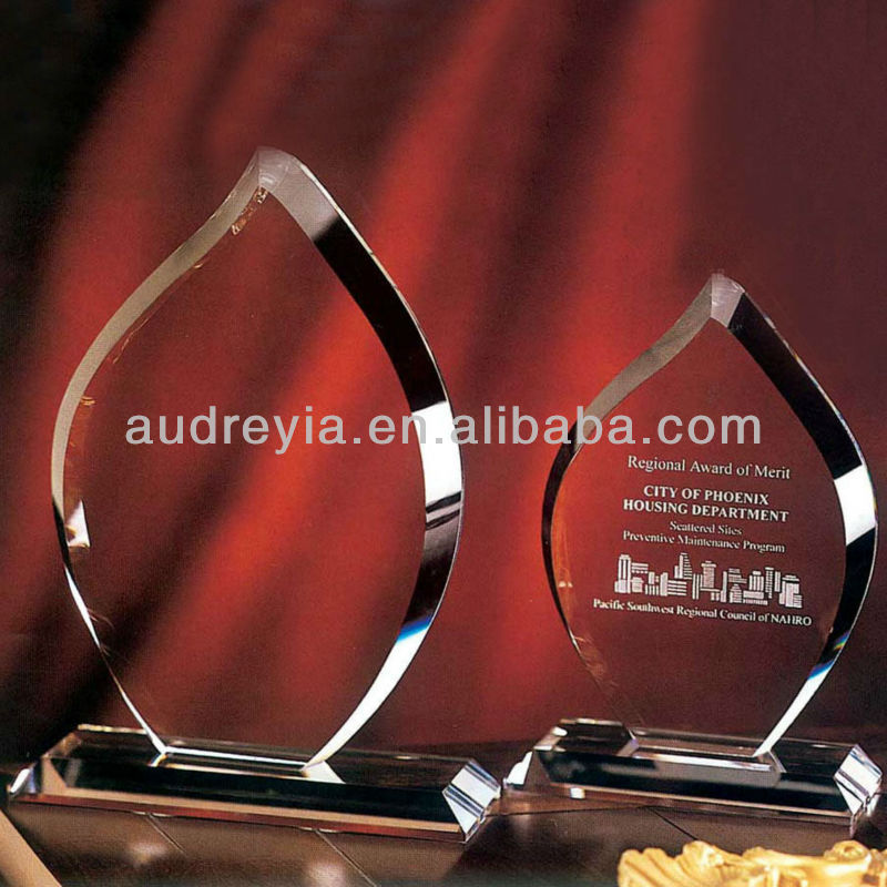 Top quality crystal shields awards gifts souvenir