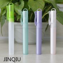 5ml/7ml/8ml/10ml plastic perfume spray pen with ring on the top