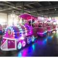 CARNEE Customized for Malaysia Client 12 Seats Electric Train Amusement Park Steam Trains for sale