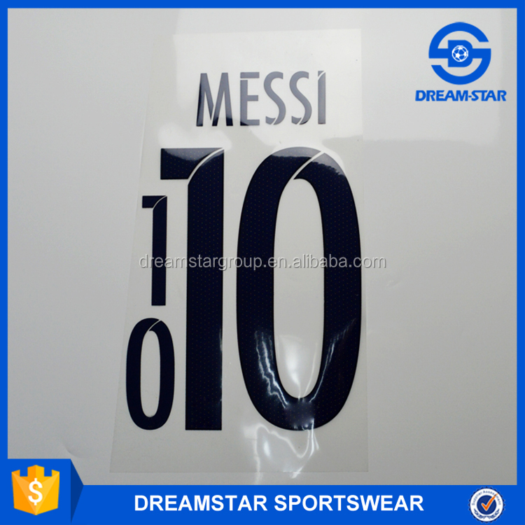 Cheap Famouse Soccer player Name and Number