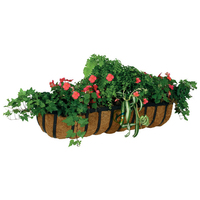 Galvanized Metal Trough Window Box Balcony planters