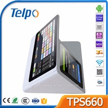 Telpo TPS660 Bluetooth/Ethernet/Wifi cash register for small business with printer/barcode scanner/camera/wifi/msr