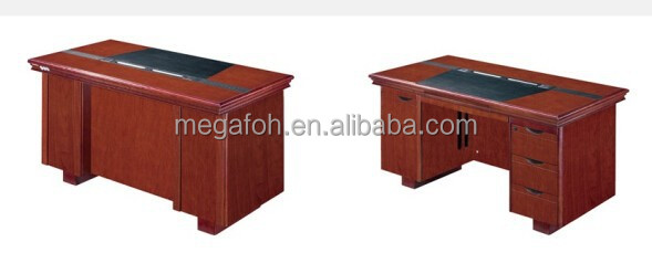 New design heavy duty wooden teacher desk with pedestal(FOH-A2G141&FOH-A2G121)