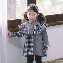 Children's Names Shirt Styles Outdoor Wear Two Tones Plaid Shirt From Clothing Manufacturer