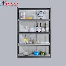 powder coated adjustable metal slotted angle iron rack shelf