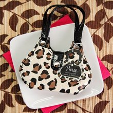 Chic Cheetah Animal Print Purse Four Piece Manicure Set