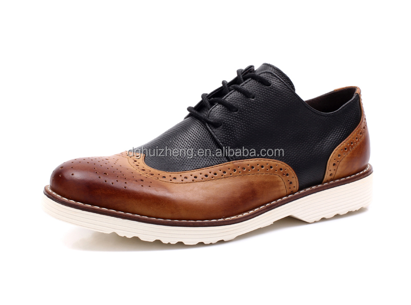 Top 10 high quality men brogue oxford dress leather shoes