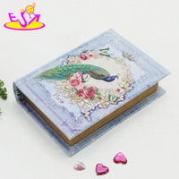 Wholesale Custom Small Square Shape Wooden