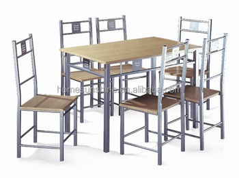 6 seater dining room used table and chairs set buy for Dining room tables 6 seater