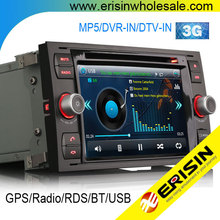 "Erisin ES7066F 7"" Touch Screen Car Radio with GPS for Ford Mondeo"