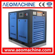 90KW 120HP Electric Screw Air Compressor With Permanent Magnet Inverter Motor