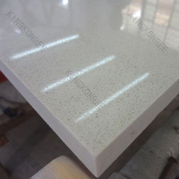 Stone Slab Quartz Crystal : Kitchen countertop crystal white quartz composite