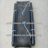 10mmx10mm 100% NEW HDPE Oyster netting bag for oyster growing(factory)