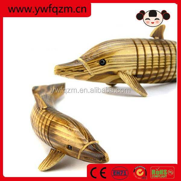 wood dolphin statues,wood carving sculpture