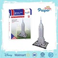 Architecture model empire state building 3d puzzle intelligent toys for adult