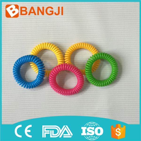 Natural plant oil phone strap mosquito repellent hand ring coil mosquito repellent bracelet Spiral hand Wrist Band