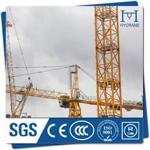 Large lifting capacity tower crane for construction, top quality manufacturer