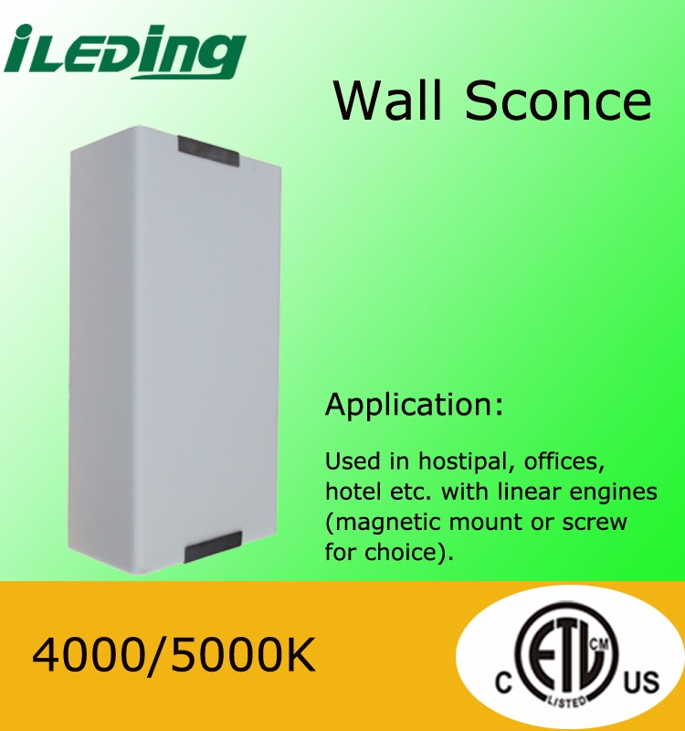 Frosted cover commercial led wall sconce light for corridor
