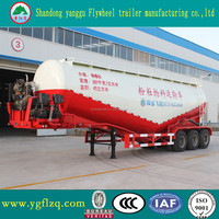 Best Price V type silo dry bulk powder cement tank semi truck trailer for online shopping