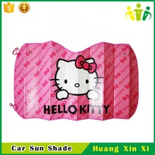 Fashional customized logo parasol car sun shade