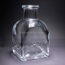 Reed Diffuser Accessories Clear French Squares Glass Bottle
