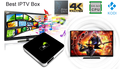 Android 6.0 Amlogic S905X TV Box M9 Plus M9+ TV Box 802.11b/G/N RAM 1GB ROM 8GB Medium Player