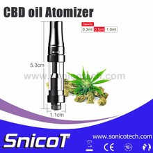 New Product Dual Coil Glass Tube Names Cigarette Brands Supplier