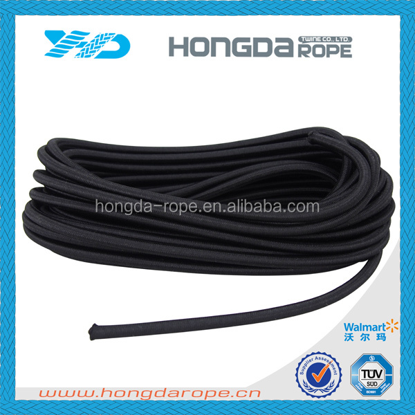 4mm elastic chair bungee cord black