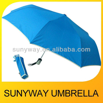UV Parasol 3 Foldable Automatic Gift Folding Umbrella