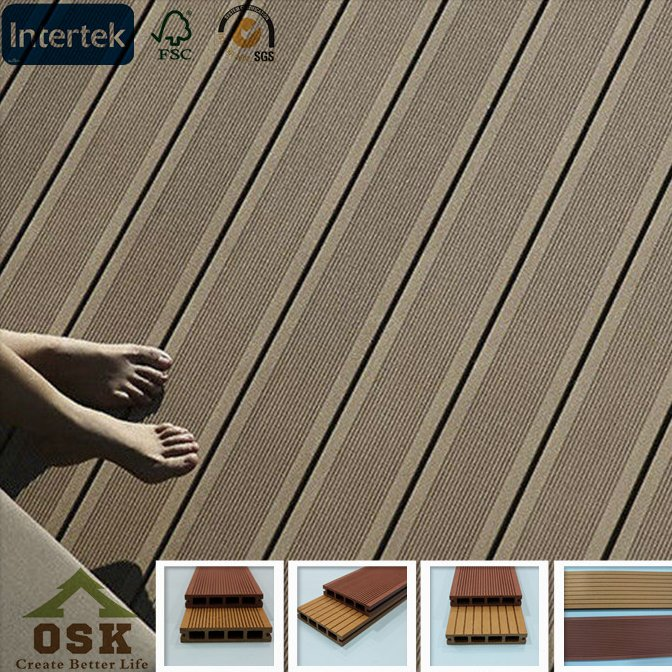 Hot sale uropean standard outdoor wpc decking board outdoor swimming pool made in china