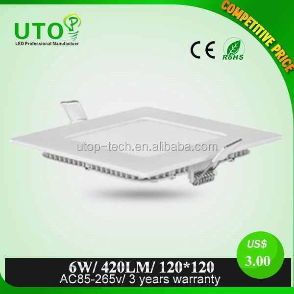Project need super bright led panel light with CE certificate