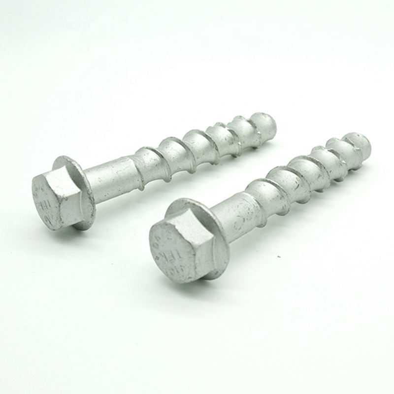 SUS410 stainless steel tapcon concrete <strong>screws</strong>