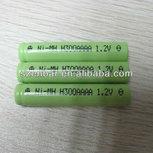 1.2v 300mah 4/5aaa ni-mh rechargeable battery for solar light