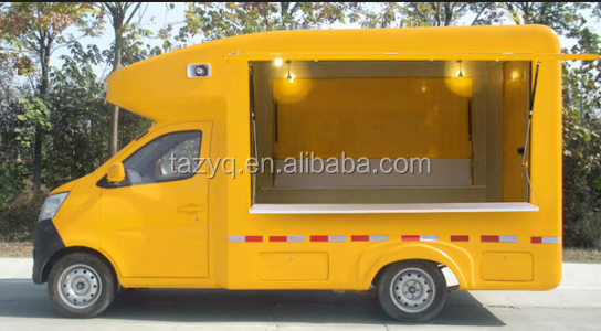 Cheap Price Chang'an Brand Street Food Van Truck for Middle East Market