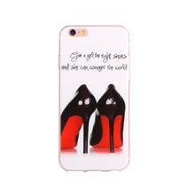 Bottom price hot-sale smart phone tpu case for iphone 6