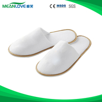 Non-woven sexy bedroom slippers with heels of high quality