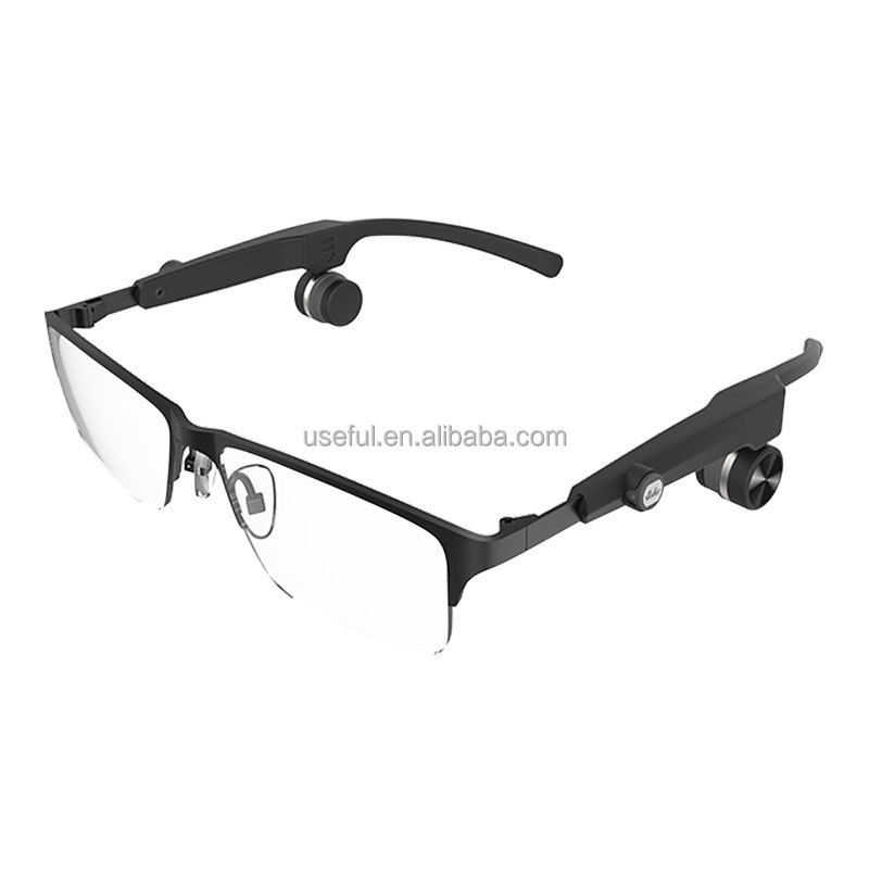 Smart glasses type bone conduction hearing aids