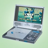 Personal DVD / VCD / CD / MP3 Player With 7 LCD Screen