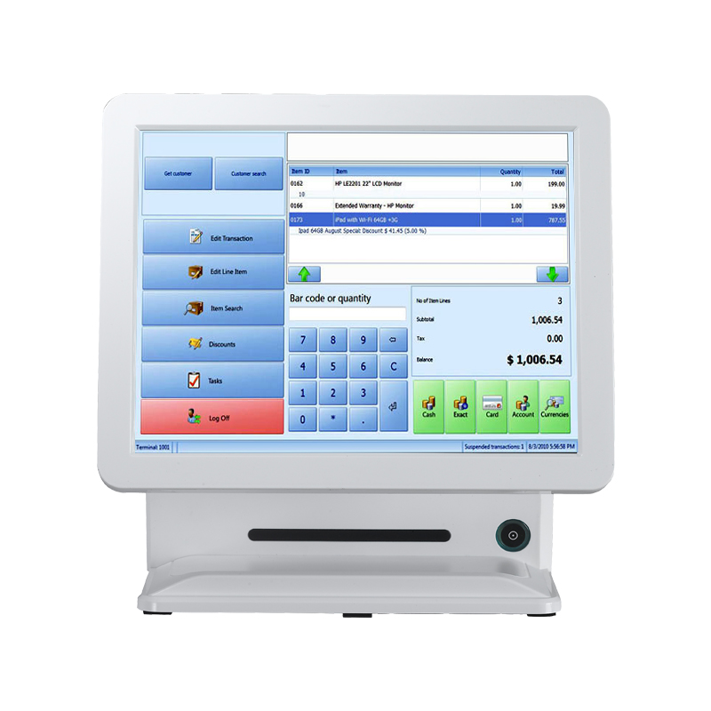 Industrial grade 1037 Debit Card or Credit Card POS terminal/POS with nfc reader