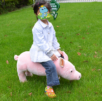 ICTI factory custom stuffed plush pigs walking toy for kids