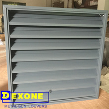 Advanced exterior aluminum horizontal louver windows/adjustable shutter (ISO)