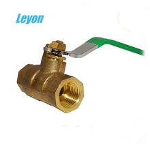 manual power 1/8, 1/2, 2, 21/2, 3 inch M*M thread brass ball valve for gas