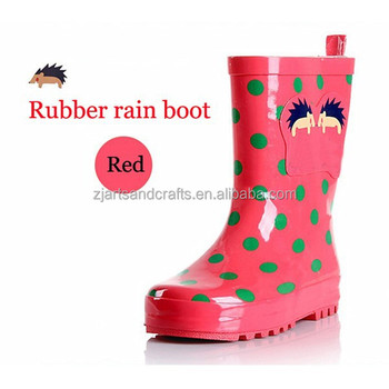 Children rain boot High quality cute rubber boots for rainy day