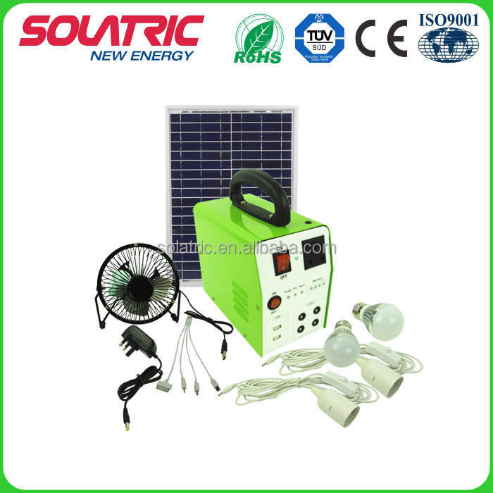 AC12V/150W green energy solar home lighting system solar collector for home lighting and camping