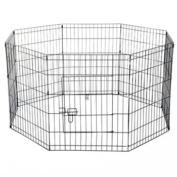 61Lx61W cm Metal Pet Cage 8 Panels