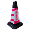 Road warning 4KG Rubber Traffic Cone with Two Handles