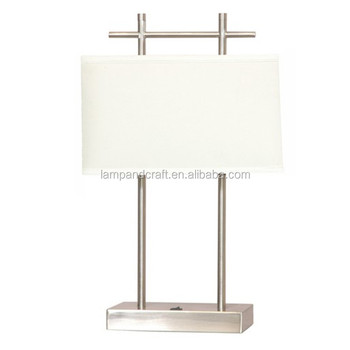 2015 ul cul hotel nightstand lamp with usb port and power outlet buy. Black Bedroom Furniture Sets. Home Design Ideas