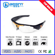 Best selling products portable 720p hd camera eyewear driver BS-780P