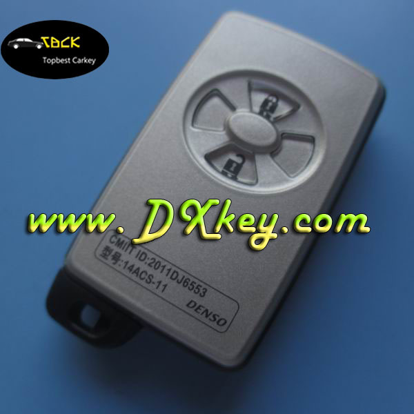 High quality 4 button remote key for car key lock remote remote key toyota rav4 with 315MHZ and 4D70 chip