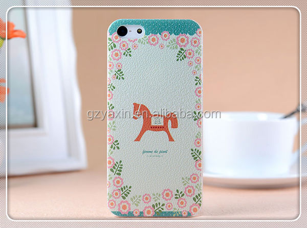 factory direct sell customized paintable plastic phone case for iphone 5/5s